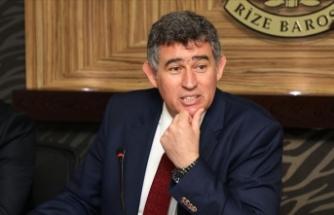 TBB Başkanı Feyzioğlu: Türkiye Cumhuriyeti'nin büyük devlet olmasına alışalım