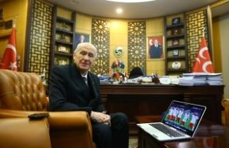 Bahçeli, Anadolu Ajansı'nın 'Yılın Fotoğrafları' oylamasına katıldı