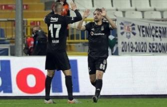 Beşiktaş ligde üst üste 6. galibiyetini aldı