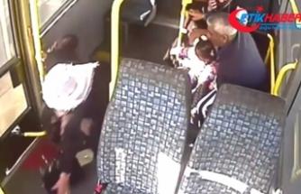 Koltuktan düşen yolcuyu hastaneye yetiştirmek için zamanla yarıştı