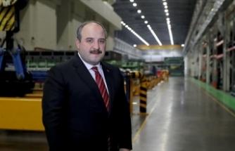 Sanayi ve Teknoloji Bakanı Varank: Sanayicimizin yanındayız