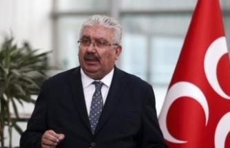 Semih Yalçın: MHP, Türkiye'ye dönük, milletimize yönelik hainane hesapları yıkmaya devam edecektir