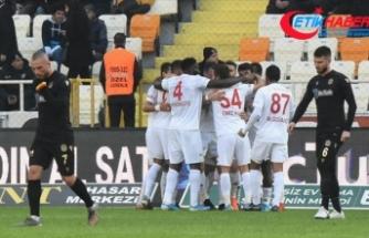 Sivasspor Süper Lig'de 14. haftayı lider bitirdi