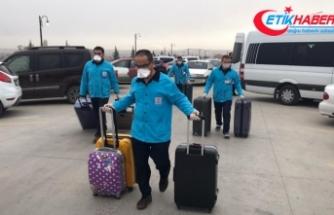 Aksaray'da tedbiren hastaneye kaldırılan 10'u Çinli 12 kişinin tedavisi sürüyor