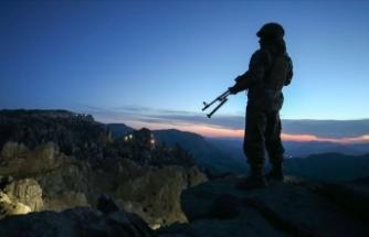 Bingöl'de 1 askeri şehit eden teröristler Tunceli'de etkisiz hale getirildi