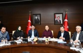 Çevre ve Şehircilik Bakanı Kurum: Elazığ'da 118, Malatya'da da 20 acil yıkılacak binamız var