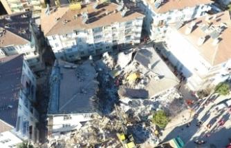 Depremde yaralı sayısı bin 103'e yükseldi