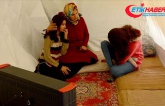 Depremzede Hanım Korkut: Evimiz yıkıldı ama sokakta kalmadık çok şükür