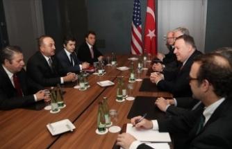 Dışişleri Bakanı Çavuşoğlu ABD'li mevkidaşı Pompeo ile bir araya geldi