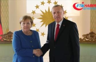 Erdoğan-Merkel görüşmesi sona erdi