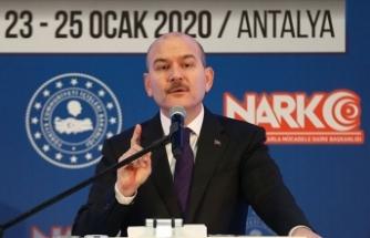 İçişleri Bakanı Soylu: Afrin, PKK tarafından dünyanın en büyük uyuşturucu merkezi haline getiriliyordu