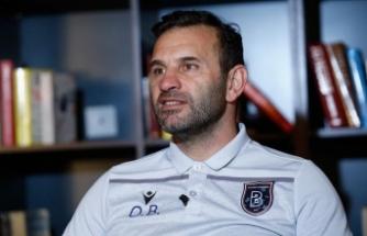 Medipol Başakşehir Teknik Direktörü Buruk: İlk defa şampiyonluk hayali kuruyorum