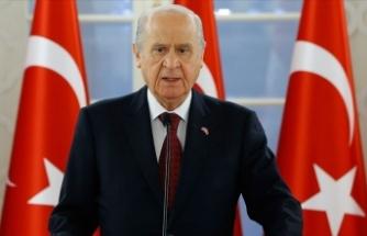 MHP Lideri Bahçeli'den deprem mesajı
