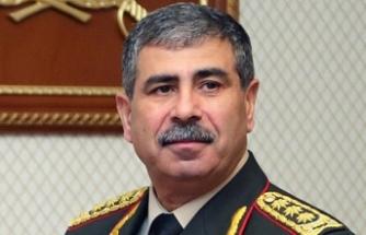 Azerbaycan Savunma Bakanı Hasanov'dan Türkiye'ye taziye mesajı