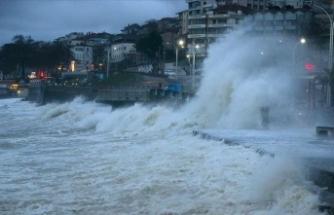 Karadeniz Bölgesi'ndeki 7 ilde yağış bekleniyor