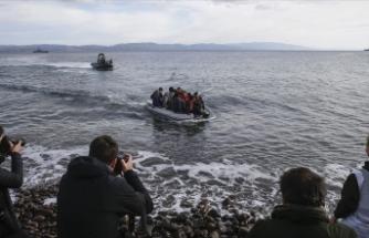 Midilli'de düzensiz göçmen hareketliliği