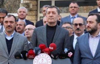 Milli Eğitim Bakanı Selçuk: Yarın Elazığ'da okul zili çalacak