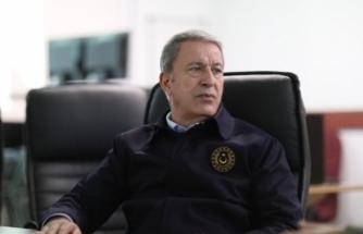 Milli Savunma Bakanı Akar Rus mevkidaşı ile görüştü