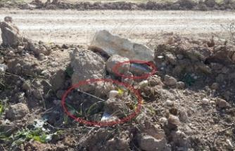 MSB: PKK/YPG'nin Rasulayn'da tuzakladığı 20 kilogramlık EYP imha edildi