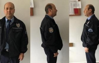Sahte polis, gerçek polise yakalandı