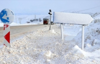 Bingöl'de 288 köy yolu ulaşıma kapandı