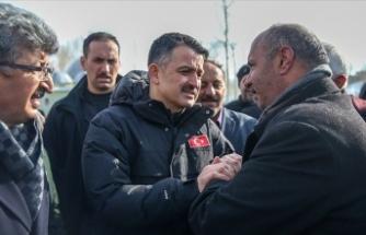 Tarım ve Orman Bakanı Pakdemirli: Tüm zararlar karşılanacak
