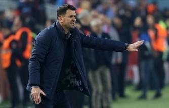 Trabzonspor Teknik Direktörü Çimşir: Lider olmak değil sezon sonunu lider bitirebilmek önemli