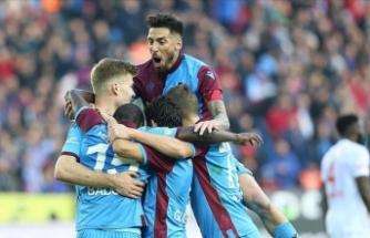 Trabzonspor'un 298 haftalık liderlik hasreti sona erdi