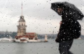 Türkiye yağışlı ve serin havanın etkisine girecek
