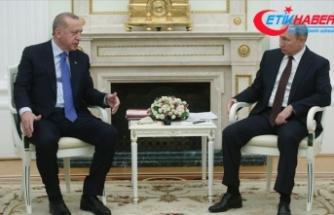 Erdoğan ve Putin 'İdlib' meselesini görüştü