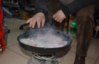 """Korona virüse Karadeniz usulü çözüm: """"Paraları 100 derecede kaynatıyor"""""""