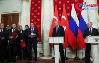 Türkiye ile Rusya'nın anlaştığı ateşkes İdlib'de yürürlüğe girdi