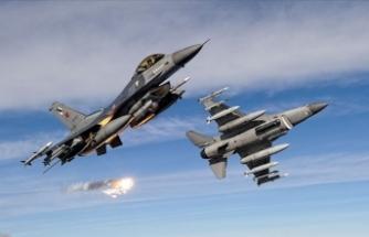 """MSB: """"Irak'ın kuzeyindeki Asos bölgesinde PKK'lı 5 terörist etkisiz hale getirildi"""""""