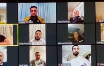 Yeni Malatyaspor yönetiminden telekonferanslı toplantı