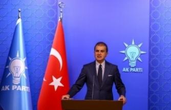 """AK Parti Sözcüsü Çelik: """"Bu provokasyonlara müsaade etmeyiz"""""""
