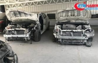 Ankara'da 'change otomobil' operasyonu