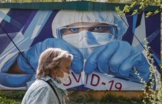 Rusya'da Kovid-19 vaka sayısı 387 bini aştı