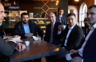 Karantina kuralını ihlal eden Ukrayna Devlet Başkanı Zelenskiy'e tepki
