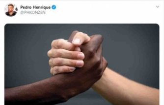 Pedro'dan ırkçılık paylaşımı