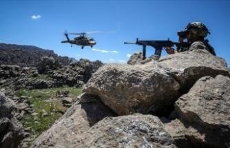 Pençe-Kaplan Operasyonu'nda 8 PKK'lı terörist etkisiz hale getirildi