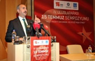 Adalet Bakanı Gül: Yargı, 289 darbe davasında 4 bin 130 sanığa hak ettikleri cezaları verdi