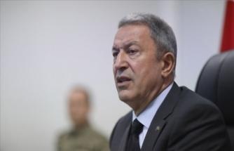 """Bakan Akar: """"Biz Türkiye olarak Kırım'ın ilhakını tanımadık, tanımayacağız"""""""