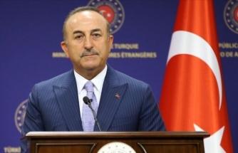 Çavuşoğlu: AB'nin Ayasofya'ya ilişkin 'kınama' sözcüğünü reddediyoruz