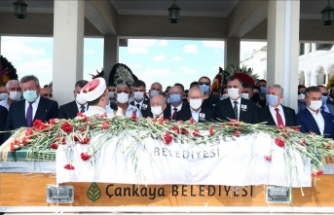 Eski Çankaya Belediye Başkanı Taşdelen, son yolculuğuna uğurlandı