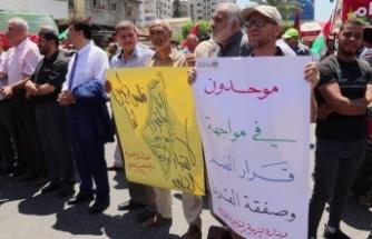 Filistinliler, İsrail'in ilhak planına 'hayır' dedi