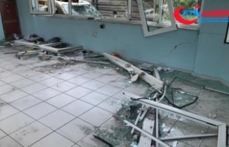 Havai fişek fabrikasındaki patlama çevredeki mahallelerde de hasara yol açtı