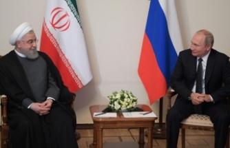 İran Cumhurbaşkanı Ruhani, Putin ile nükleer anlaşmayı görüştü