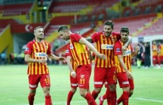 Kayserispor seriyi 3 maça çıkardı