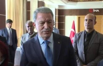 """Milli Savunma Bakanı Akar: """"Libya Libyalılarındır"""""""