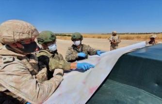MSB: İdlib'de teröristlerce düzenlenen bombalı araç saldırısında can kaybı yaşanmamıştır